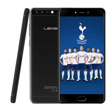 EU ECO Raktár - Leagoo T5c 4G okostelefon (HK) - Fekete