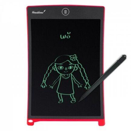 HOWSHOW 8.5 - inch Magic LCD Digitális Rajztábla - Piros