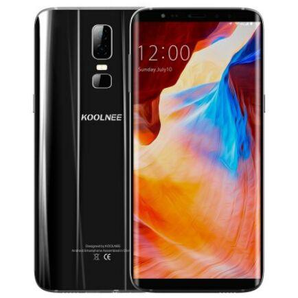 EU ECO Raktár - KOOLNEE K1 4G okostelefon (HK) - Fekete