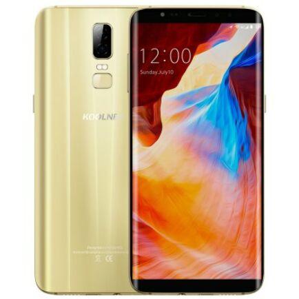 EU ECO Raktár - KOOLNEE K1 4G okostelefon (HK) - Arany