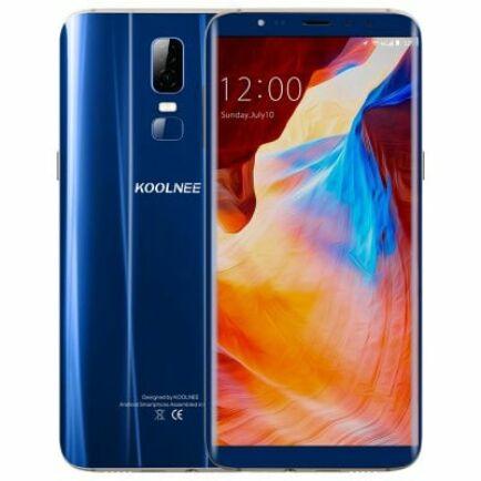 EU ECO Raktár - KOOLNEE K1 4G okostelefon (HK) - Kék