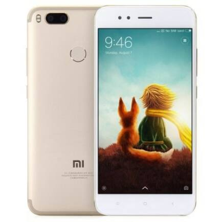 EU ECO Raktár - XIAOMI Mi A1 4G okostelefon (HK4) - UK Csatlakozó, Arany