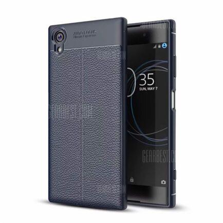 Sony Xperia XA1 Plus ütésálló védőtok (CN) - Kék