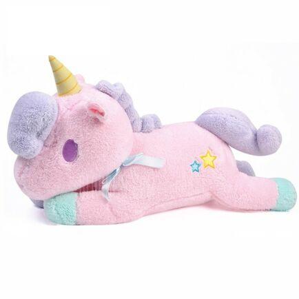 Aranyos Unicorn plüss - rózsaszín