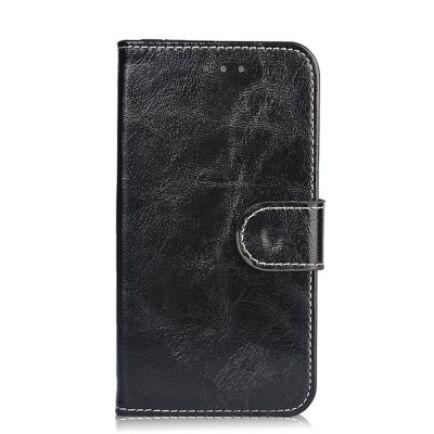 Elephone P9000 mágneses flip műbőr védőtok - Fekete