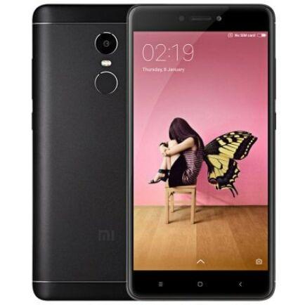 EU ECO Raktár - Xiaomi Redmi Note 4X 4G okostelefon - 4GB 64GB - Fekete
