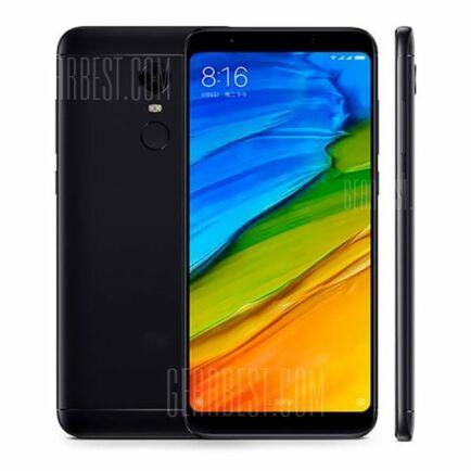 EU ECO Raktár - Xiaomi Redmi 5 Plus 4G okostelefon (HK) - Fekete