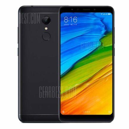 EU ECO Raktár - Xiaomi Redmi 5 4G okostelefon (HK) - Fekete