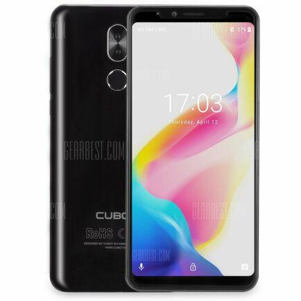 EU ECO Raktár - CUBOT X18 Plus 4G okostelefon - Fekete