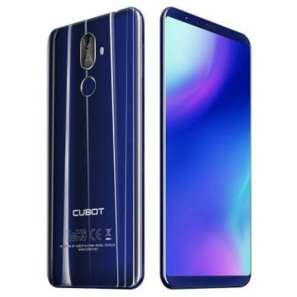 EU Raktár - CUBOT X18 Plus 4G okostelefon (PL) - Kék