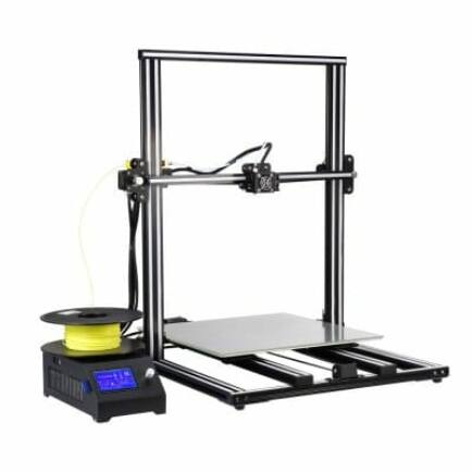 Cseh raktár - Alfawise U10 3D Nyomtató DIY szett - Fekete