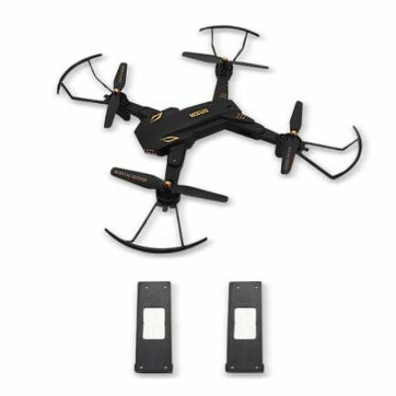 TIANQU VISUO XS809S WiFi FPV Drón 3 Akkumumlátorral (720P+Wide Angel)
