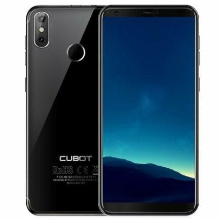 EU ECO Raktár - CUBOTR11 3G okostelefon - Fekete