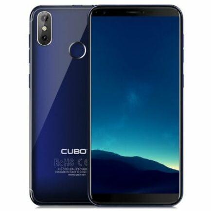 EU ECO Raktár - CUBOTR11 3G okostelefon - Kék