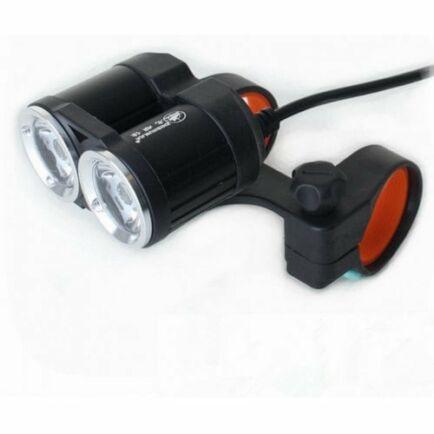 ZHISHUNJIA USB 5V Biciklis LED Lámpa - Fekete