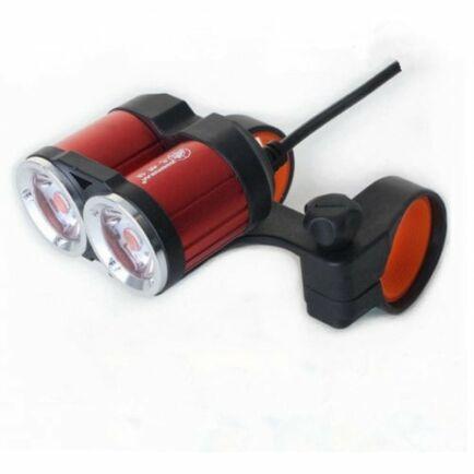 ZHISHUNJIA USB 5V Biciklis LED Lámpa - Piros