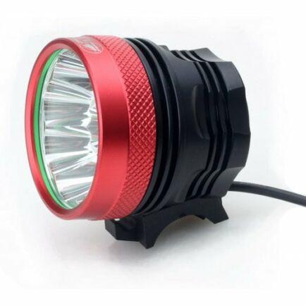 EU ECO Raktár - Zhishunjia B13 13-LED Kerékpáros Lámpa - Piros