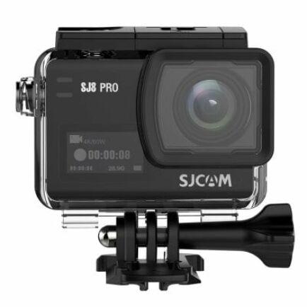 EU Raktár - SJCAM SJ8 Pro 4K 60fps WiFi akció kamera (PL) - Fekete