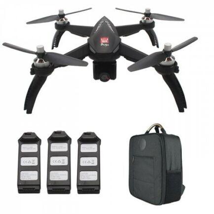EU ECO Raktár - MJX Bugs 5W ( B5W ) WiFi FPV RC Drón - Fekete 3 Akkumulátor + 1 Hátizsák
