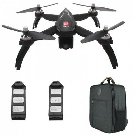 EU ECO Raktár - MJX Bugs 5W ( B5W ) WiFi FPV RC Drón - Fekete 2 Akkumulátor + Házizsák