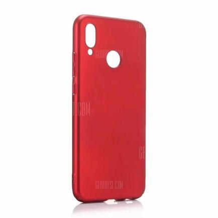 Huawei P20 Lite ultravékony műanyag hátlapvédő tok (HK2) - Piros