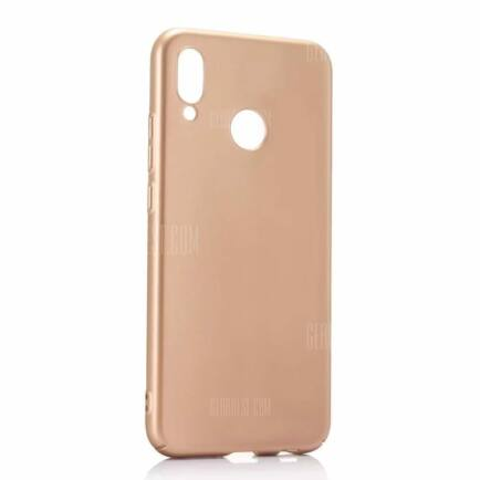 Huawei P20 Lite ultravékony műanyag hátlapvédő tok (HK2) - Arany