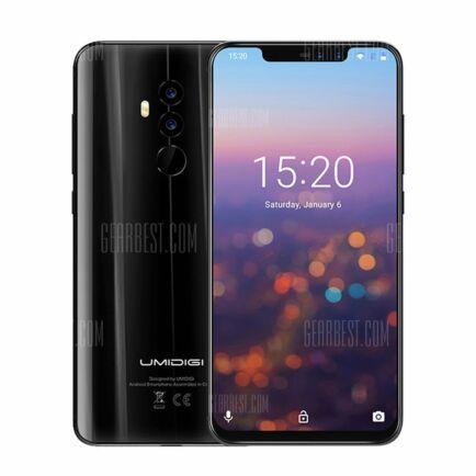 EU ECO Raktár - UMIDIGI Z2 4G Okostelefon (HK2) - 6GB + 64GB - Fekete