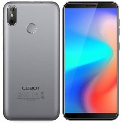 EU ECO Raktár - CubotJ3 PRO 4G okostelefon - Szürke