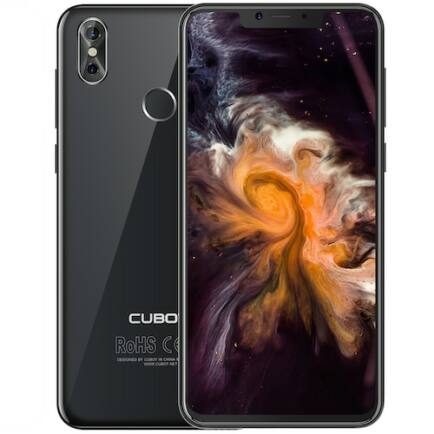 EU ECO Raktár - CUBOT P20 4G okostelefon - 4GB 64GB - Fekete