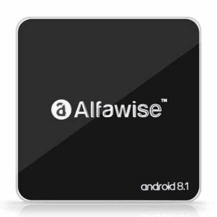 Alfawise A8 Android 8.1 TV BOX (CN) - EU csatlakozó - Fekete