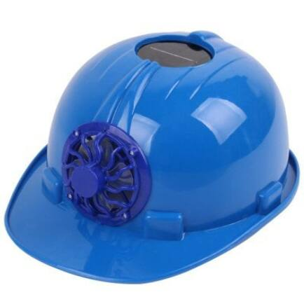 Napelemes ventilátoros sisak (CN) - Kék
