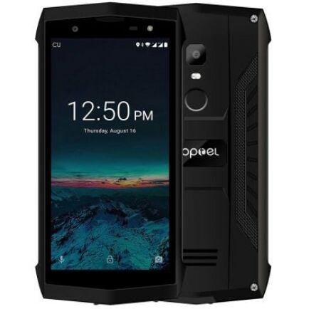 EU ECO Raktár - poptel P8 4G Smartphone - Fekete