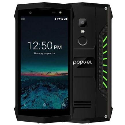 EU ECO Raktár - poptel P8 4G Smartphone - Zöld