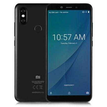 EU ECO Raktár - Xiaomi Mi A2 4G okostelefon - 4GB 64GB - Fekete