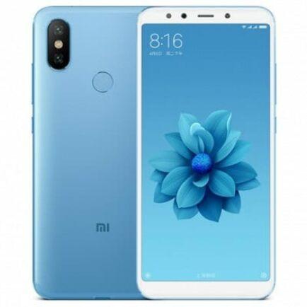 EU ECO Raktár - Xiaomi Mi A2 4G okostelefon - 4GB 64GB - Kék