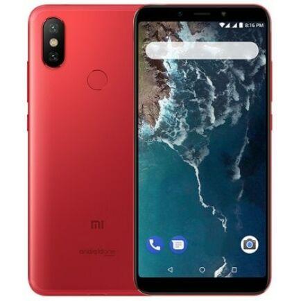 EU ECO Raktár - Xiaomi Mi A2 4G okostelefon - 4GB 64GB - Piros