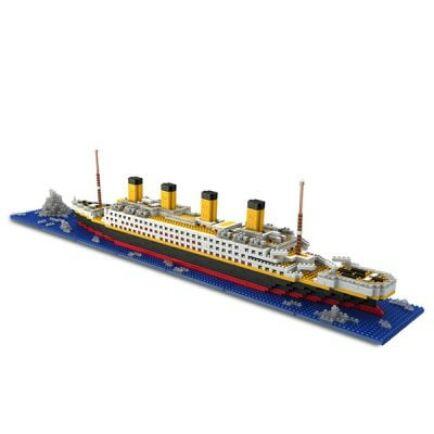DIY Titanic Építő Játék Makett
