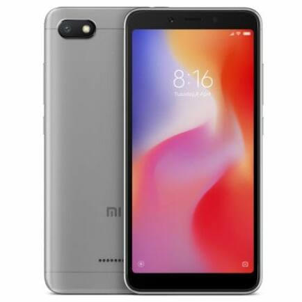 Xiaomi Redmi 6A 4G okostelefon - Globális verzió - Szürke