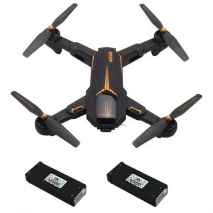 EU ECO Raktár - VISUO XS812 GPS 5G WiFi FPV w/ 2MP/5MP HD Kamera Drón - 1080P - 2 Akkumulátorral - Lámpával