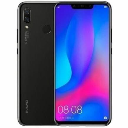EU ECO Raktár - HUAWEI nova 3 4G okostelefon Globális verzió - 128GB - Fekete