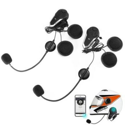 Alfawise BT-S3 Motoros Bluetooth Intercom Headset Sisakbeszélő - 2db