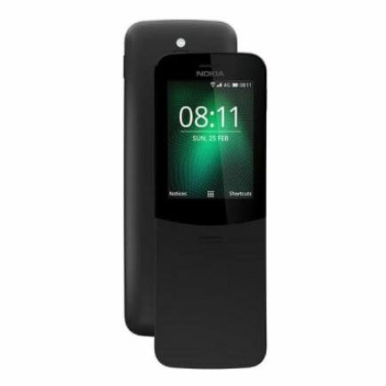 EU ECO Raktár - Nokia 8110 4G Szétcsúsztatható Nyomógombos Telefon