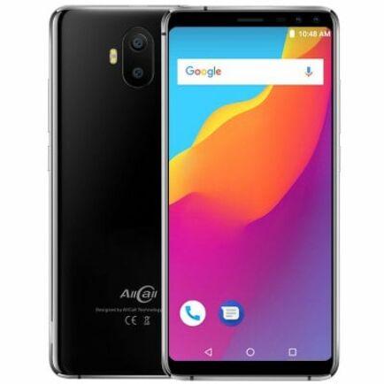 EU ECO Raktár - AllCall S1 3G okostelefon - Fekete