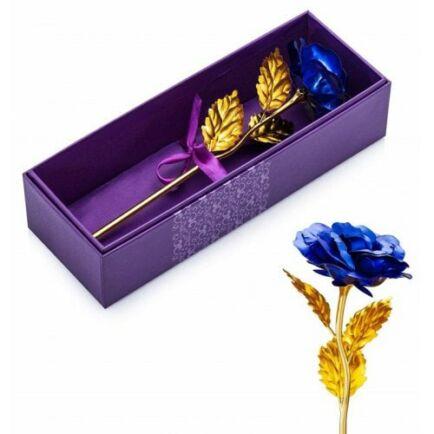 Aranyozott Rózsa - Kék