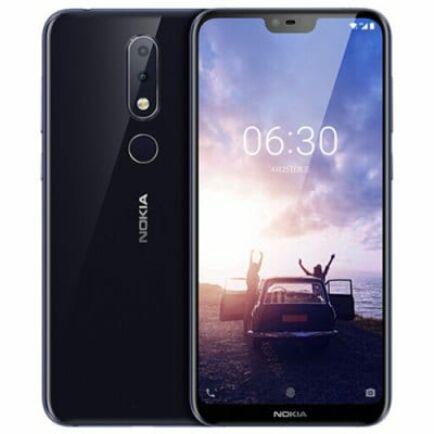 EU ECO Raktár - Nokia X6 ( Nokia 6.1 Plus ) 4G okostelefon Nemzetközi verzió - Kék