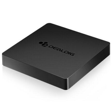 EU ECO Raktár - DEALDIG BOXD7 TV Box 2GB RAM 16GB ROM Android 7.1 - 2GB RAM + 16GB ROM