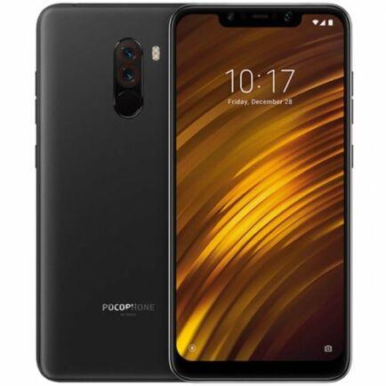 EU ECO Raktár - Xiaomi Pocophone F1 4G okostelefon - 64GB - Grafit fekete