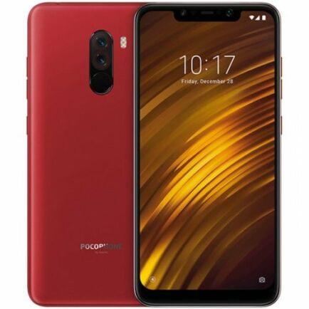 EU ECO Raktár - Xiaomi Pocophone F1 4G okostelefon - 64GB - Piros