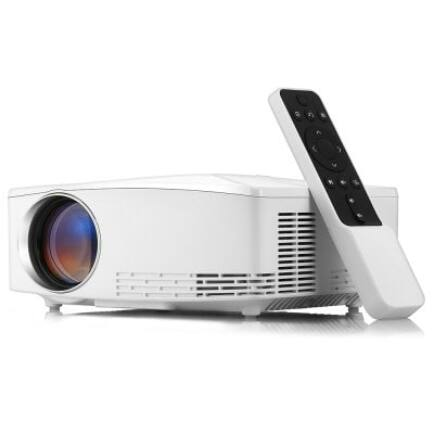 EU ECO Raktár - VIVIBRIGHT C80 LCD Otthoni Házimozi Projektor Távirányítóval