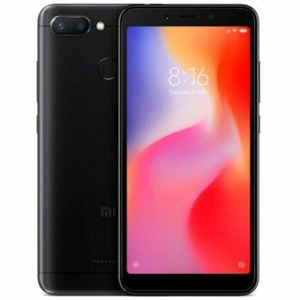 EU ECO Raktár - Xiaomi Redmi 6 4G okostelefon - Globális verzió - 3GB 64GB - Fekete